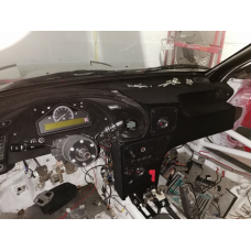 TTE Style LHD Rally Dash Panel Flocked